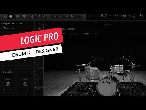How to Use Drum Kit Designer | Logic Pro X | Tutorial | Beginner | Berklee Online