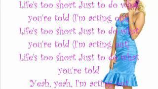 Ashley Tisdale - Acting Out with Lyrics