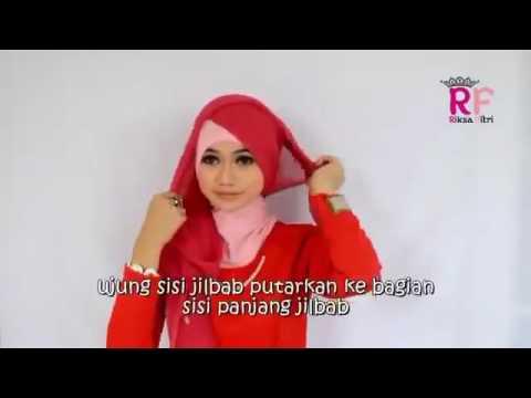 Video Memakai jilbab cantik Hijab Tutorial Fashion Hijab 2016