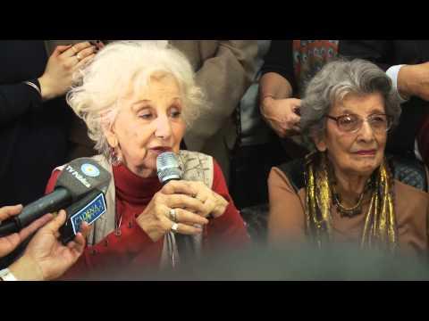 Conferencia de prensa por la restitución del Nieto 114: Ignacio Montoya Carlotto