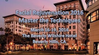 Dr. Edwin Williams speaks on the Weekend Lift at the 2016 Beverly Hills Aging Face Meeting