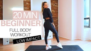 20 MIN WORKOUT AT HOME FOR BEGINNERS | FULL BODY  / No Equipment