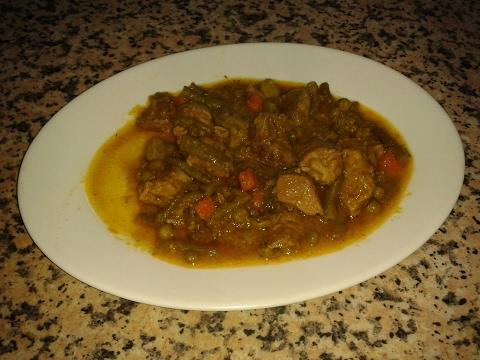 Menestra de verdura con carne de cerdo  Cocina Facil con Amalia