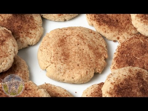 Almond Flour Snickerdoodle Cookies – Wholeness Chef
