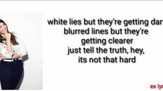 Gabbie Hanna   Honestly (Encore) × (lyrics)