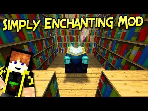 Simply Enchanting  Mod | Encantamientos A la Medida | Minecraft 1.12.2 – 1.11.2 | Mod Review Español