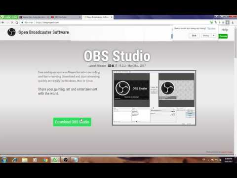 Cách tải OBS Studio