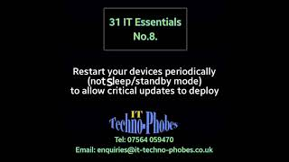 IT Techno-Phobes Limited Tip 8 – IT Support Services In Stourbridge