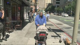San Francisco Mother And Baby Struggle On San Francisco Streets