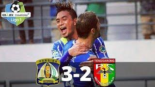 Persiba Balikpapan Vs Mitra Kukar 3-2 - All Goals & Highlights - Liga 1 - 10/11/2017