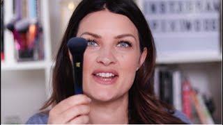PowderBleu - Soft Complexion Brush Makeup Tutorial