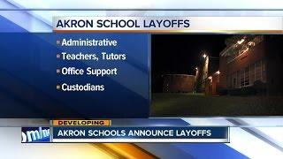 Akron Public Schools eliminate dozens of jobs after closures of three schools