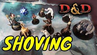 D&D (5e): Shoving a Creature