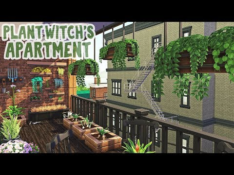 Plant Witch's Dream Apartment 🌱 || Sims 4 Apartment Renovation: Speed Build