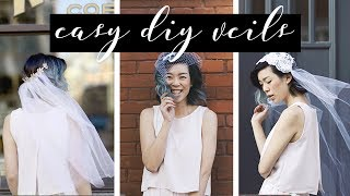 DIY Wedding Veils   WITHWENDY