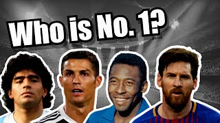 Top 10 Greatest Football Players of All Time