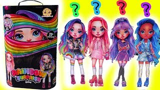 Rainbow Surprise Big Dress Up Fashion with DIY Slime Style Clothing + Shoes Blind Bags - NEW Video