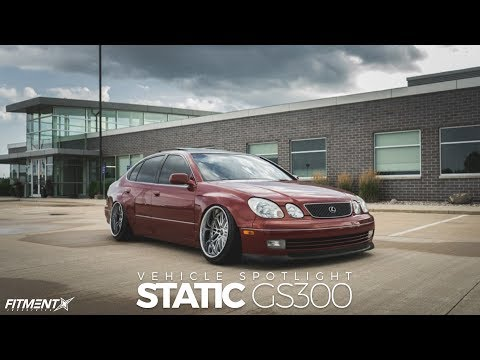 Slammed 1999 Lexus GS300 On Weds Wheels