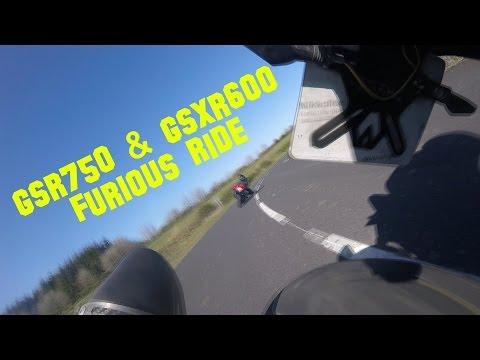 Gsr750 & Gsxr600 Furious Ride