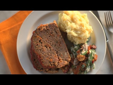Saltine Cracker Meatloaf- Everyday Food with Sarah Carey