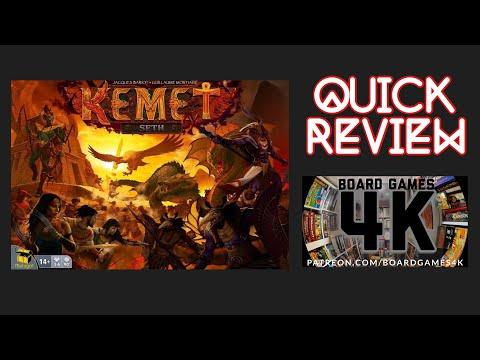 Kemet Seth - Quick Review