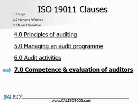 Free Auditor Training video: ISO 9001, ISO 14001, ISO 13485 ...