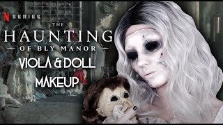 The Haunting of Bly Manor Ghost Makeup Tutorial by Madeyewlook