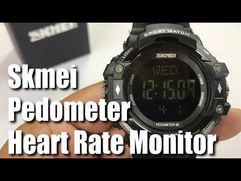 SKMEI Heart Rate Pedometer Calorie Monitoring Waterproof Sports Watch Review