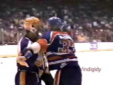 Dean Kennedy vs. Marty McSorley