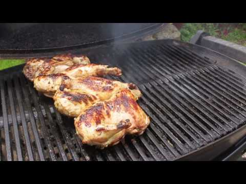 Food Wishes Recipes – Grilled Game Hens Recipe – Garlic and Pepper Marinated Game Hens Recipe