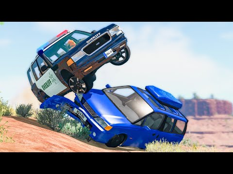 WILL IT STILL DRIVE? Crashes #76 - BeamNG Drive | CRASHdriven