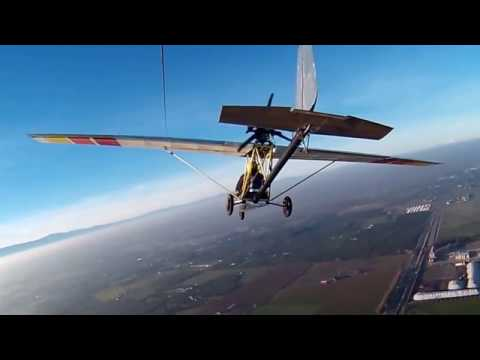 Ultralight Airplane Chase Cam Test