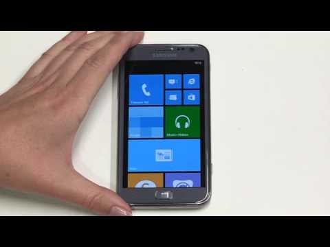 Getting started with your Samsung ATIV S