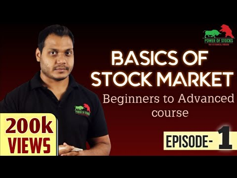 Stock Market Free Course For Beginners To Advanced -Episode1 ...