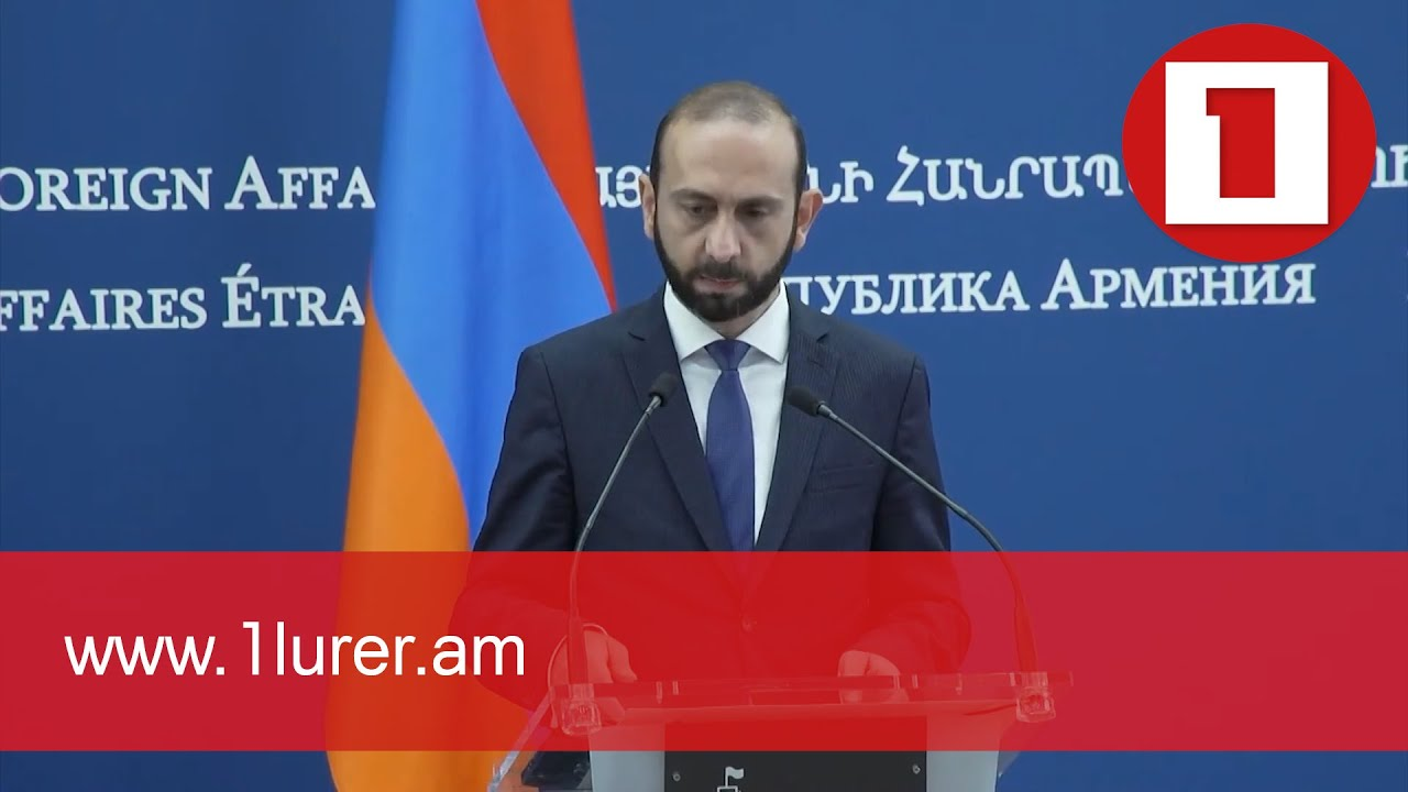 Meeting of the Minister of Foreign Affairs Ararat Mirzoyan with the Minister of Foreign Affairs of Slovakia Ivan Korčok