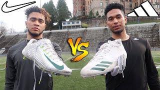 NIKE VS ADIDAS FOOTBALL CLEATS