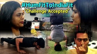 #HumFitTohIndiaFit: People Accept Fitness Challenge From Rathore   Sports Tak