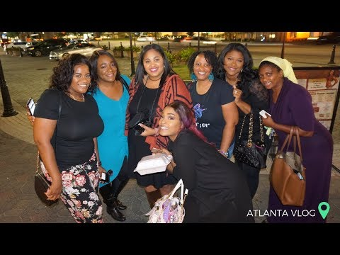 I FINALLY MET ATHOMEWITHQUITA, E.MICHELLE, JANE'S DIARY & OTHERS! ATLANTA VLOG | OCTOBER 2018