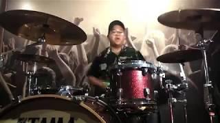 Pee Wee Gaskins Feat Tuan Tigabela$ - DAN (Arya Drum Cover)