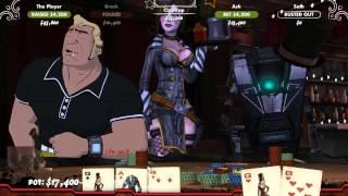 PokerNight2 - Sexy Moxxy Serving Drinks