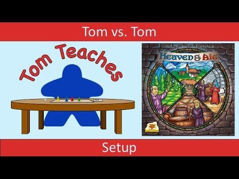 Tom Teaches Heaven and Ale (2-Player Setup)