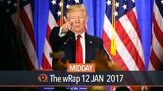 Trump denies Russian ties, attacks media, U.S. intelligence