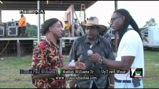 2013 SW Zydeco Music Fest interview with Nathan Williams Zydeco Cha Chas for Digital Soul TV