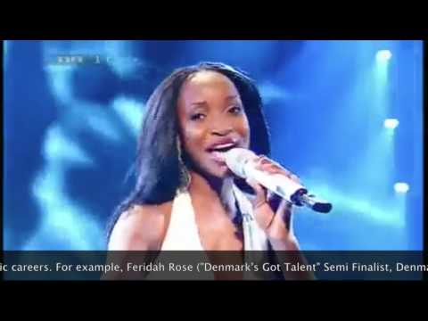 "Dan H.'s private student, Feridah Rose, ""Denmark's Got Talent"" Semi-Finalist 2009, Denmark."