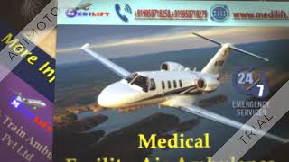 Take Emergency Air Ambulance Service in Varanasi