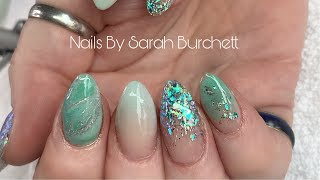 Watch Me Work - Hard Gel Removal, Acrylic Re Design, Almond Nails
