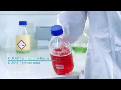 Sicherheit im Labor mit der DURAN® Protect Laborflasche