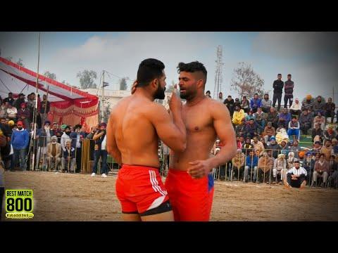 800 Best Match | Sarhala Ranuan Vs Surkhpur | Gobindpur Banga (Nawanshahr) Kabaddi Cup 01 Feb 2020