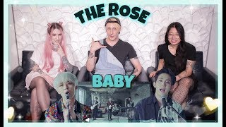 THE ROSE (더 로즈)   'BABY' MV REACTION! NEW FAVS