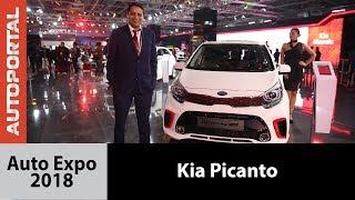 Kia Picanto at Auto Expo 2018 - Autoportal
